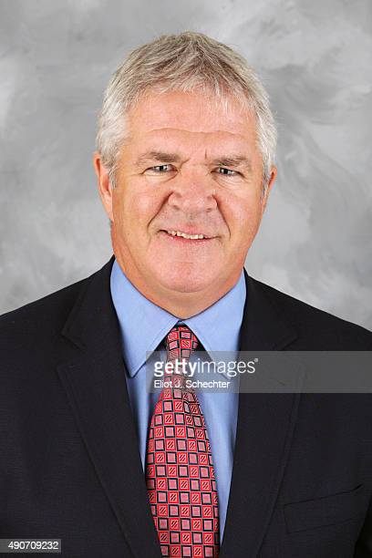 Dale Tallon General Manger of the Florida Panthers poses for his official headshot for the 2015-2016 season on September 17, 2015 at the BB&T Center...