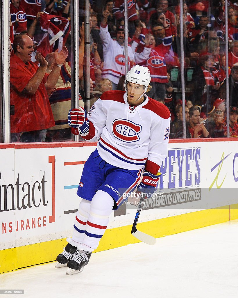 Montreal Canadiens v Calgary Flames : News Photo