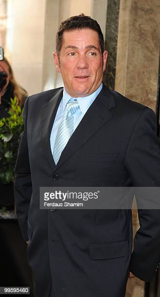 Dale Winton attends the wedding of David Walliams and Lara Stone at Claridge's Hotel on May 16 2010 in London England
