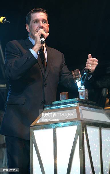 Dale Winton during 2006 Blackpool Illuminations The Switch On at Blackpool Promenade in Blackpool Great Britain