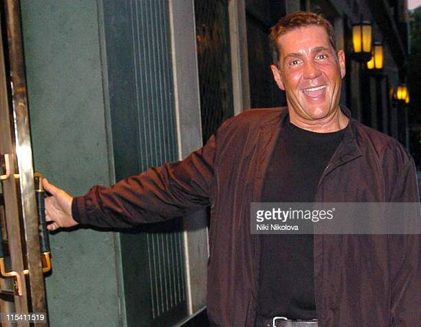 Dale Winton during Dale Winton Sighting at The Ivy in London August 9 2005 at The Ivy Restaurant in London Great Britain