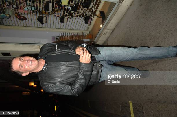 Dale Winton during Dale Winton Sighting at The Ivy in London July 26 2005 at Ivy Restaurant in London Great Britain