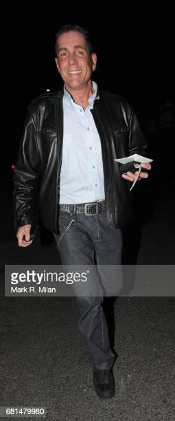 Dale Winton is seen leaving Scotts in Mayfair