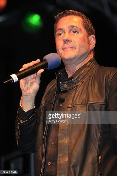 Dale Winton presents at the Blackpool Illuminations 2007 on August 31 2007 in Blackpool England