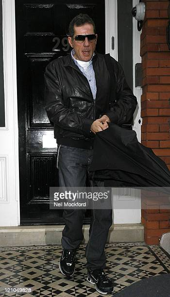 Dale Winton sighted visiting Matt Lucas's Home on October 7 2009 in London England