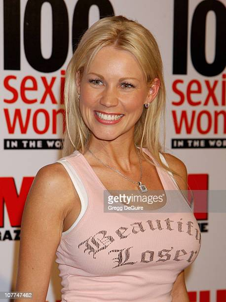 Dalene Kurtis during FHM Magazine Hosts The 100 Sexiest Women in the World Party at Raleigh Studios in Hollywood California United States