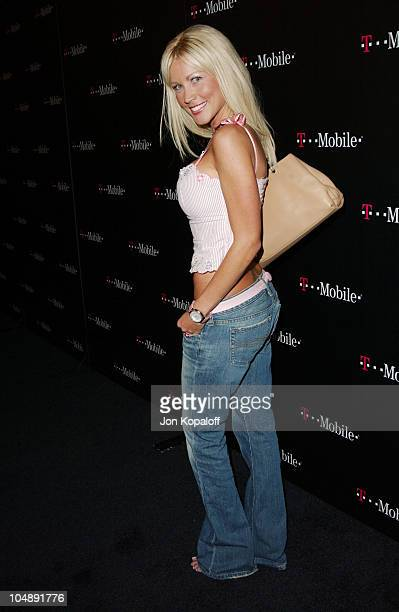 Dalene Kurtis during TMobile Action Sports Team Hosts ActionPacked Arrivals at ArcLight Cinema Rooftop in Hollywood California United States