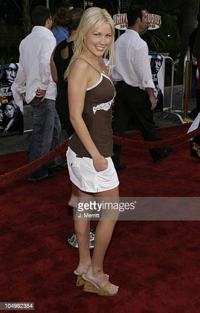 Dalene Kurtis during World Premiere of 2 Fast 2 Furious at Universal Amphitheatre in Universal City California United States