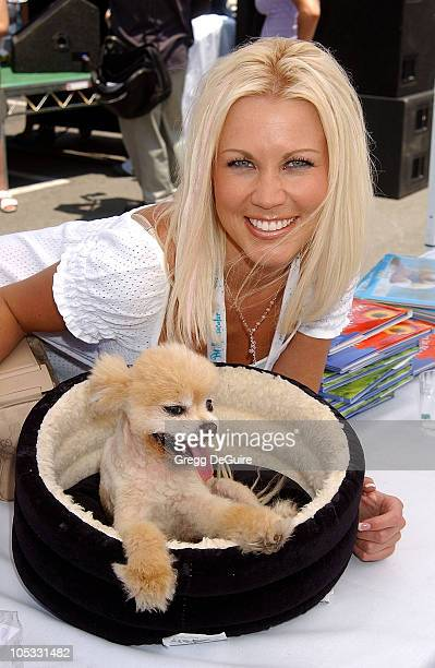Dalene Kurtis Playboy Playmate of the Year Mr Winkle the dog