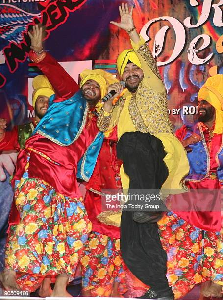 Daler Mehndi performing songs of the film 'Rang De Basanti' at the Provogue fashion show Provogue launched its FallWinter collection and a special...