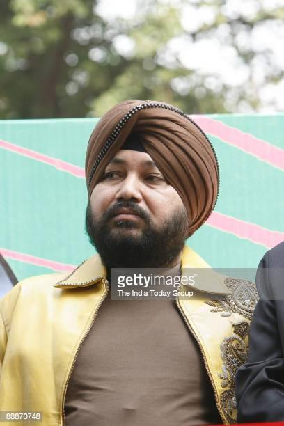 Daler Mehndi Punjabi popsinger during the launching of