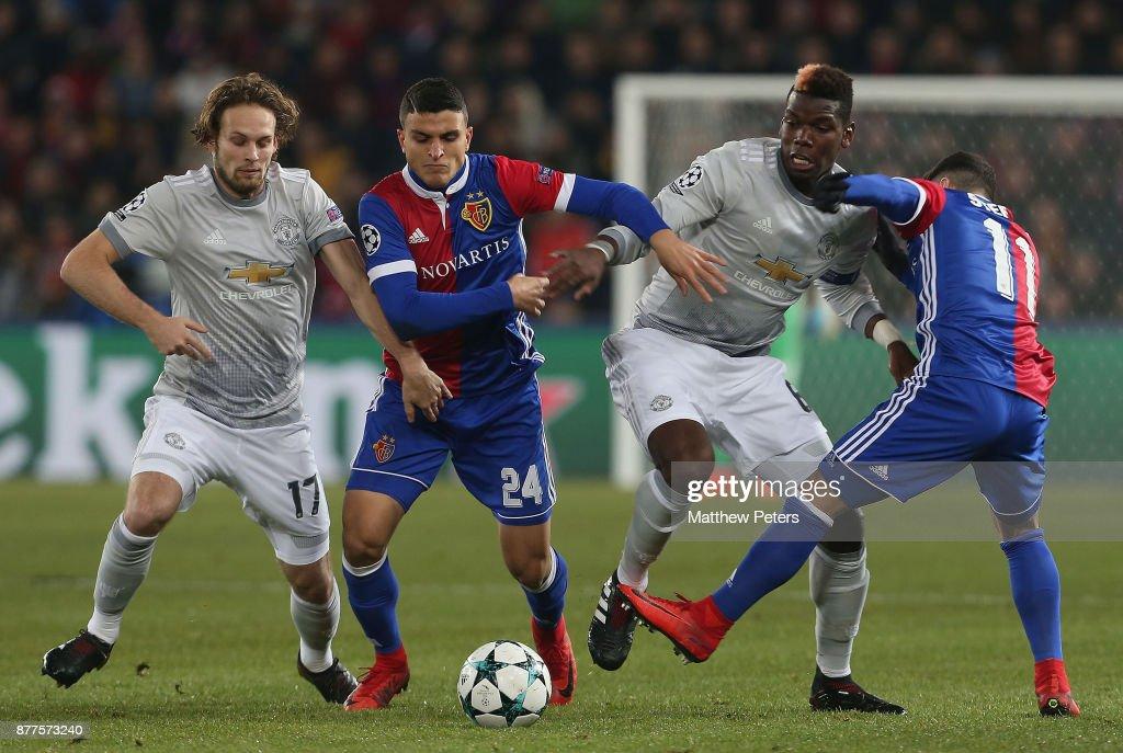 FC Basel v Manchester United - UEFA Champions League : News Photo