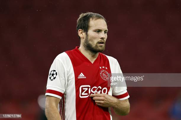 AMSTERDAM Daley Blind of Ajax during the UEFA Champions League match in group D between Ajax Amsterdam and Liverpool FC at the Johan Cruijff Arena on...