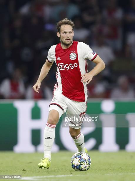 Daley Blind of Ajax during the UEFA Champions League play off qualifying second leg match between Ajax Amsterdam and APOEL FC at the Johan Cruijff...