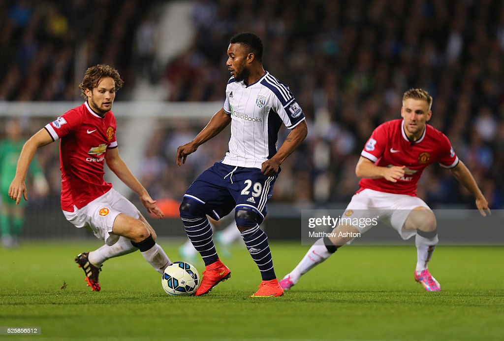 Soccer - Barclays Premier League - West Bromwich Albion vs. Manchester United : News Photo