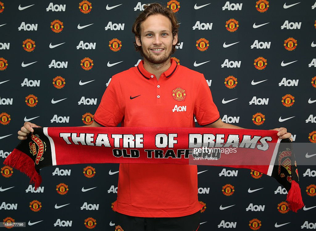Manchester United Unveil New Signing Daley Blind : News Photo