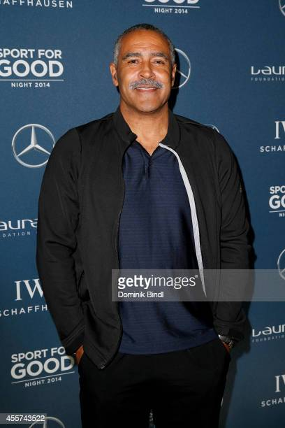 Daley Thompson attends the Laureus Sport for Good Night 2014 at Bayerischer Hof on September 19 2014 in Munich Germany