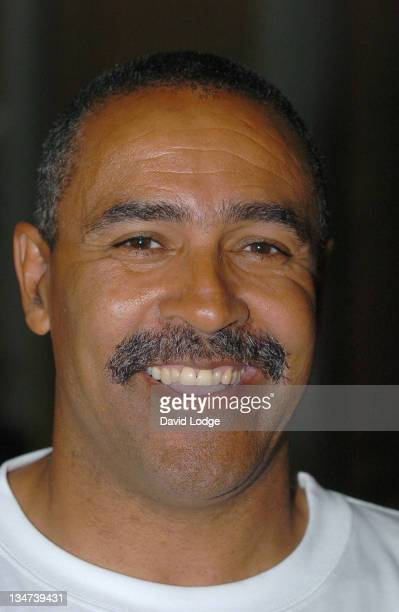 Daley Thompson during Olympic 2012 Game Launch July 27 2005 at East Ham in London Great Britain