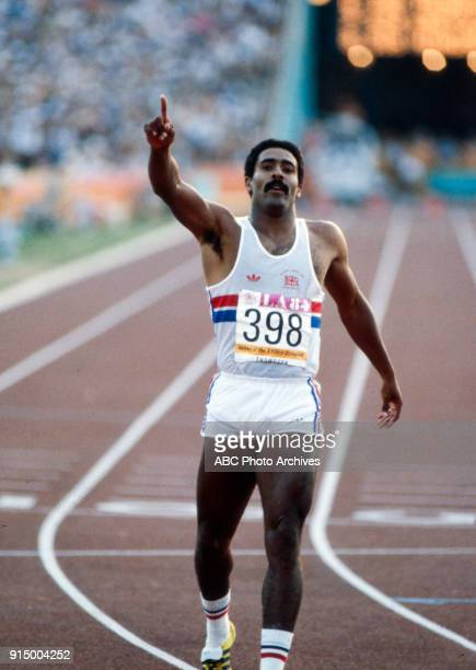 Daley Thompson Men's decathlon 400 metres competition Memorial Coliseum at the 1984 Summer Olympics August 8 1984