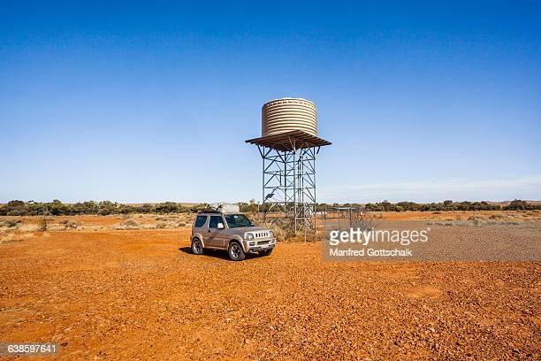 Dalhousie Springs water tower