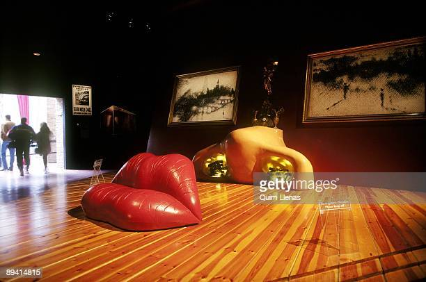 Dali Museum in Figueras. Room Mae West.