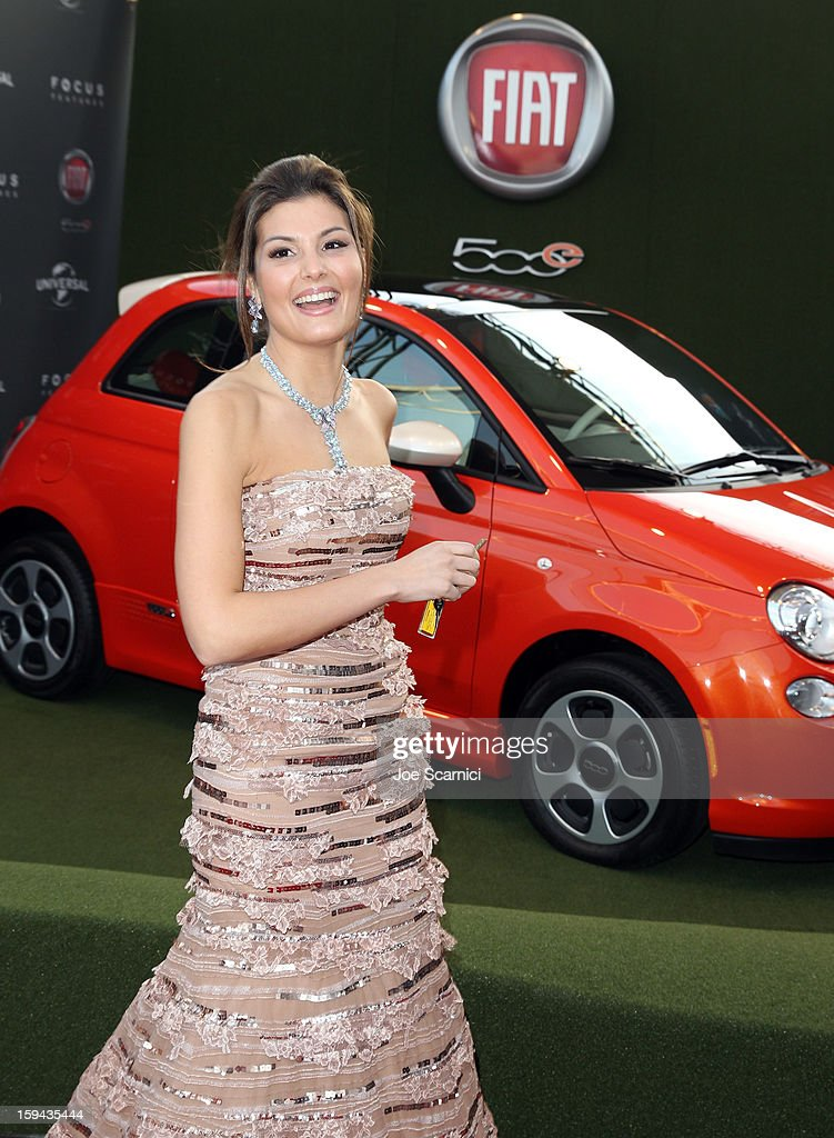 Dalia Bayazid attends Fiat's Into The Green at the 70th Annual Golden Globe Awards held at The Beverly Hilton Hotel on January 13, 2013 in Beverly Hills, California.