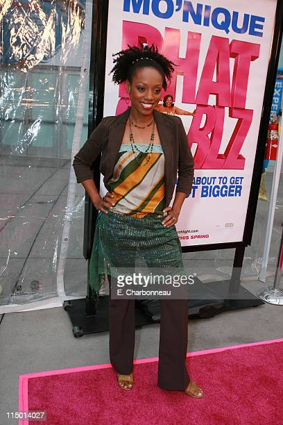 Dalia Phillips during Fox Searchlight Pictures Presents Phat Girlz Los Angeles Premiere at Archlight Cinemas in Hollywood California United States