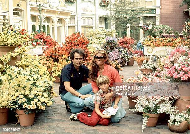 Daliah Lavi ExEhemann Peter Rittmaster Sohn Rouven Kinderparadies Walt Disney World Resort Orlando Florida United States of America NordAmerika...