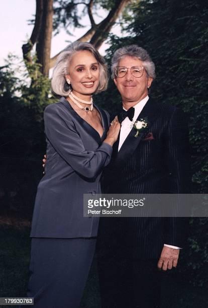 Daliah LaviGans Ehemann Chuck GansHochzeit von Tochter Kathy JasonRothman New York USA/Amerika