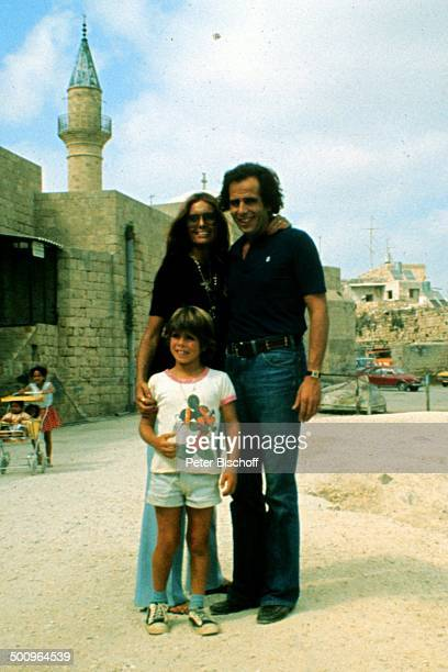 Daliah LaviGans Ehemann Peter Rittmaster Sohn Rouven Israel Urlaub Promi Foto PBischoff Sc