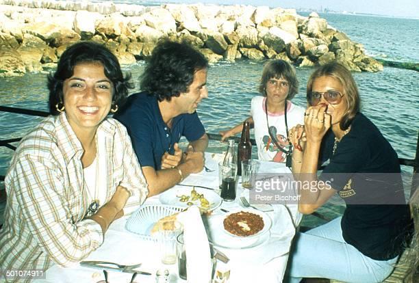 Daliah LaviGans Sohn Rouven Ehemann Peter Rittmaster Name auf Wunsch Miami Beach Orlando Florida United States of Amerika Nordamerika Schiff Boot...