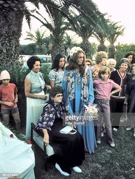 Daliah LaviGans Sohn Rouven Hochzeit Sunset Island Miami Beach Florida Amerika heiraten Hochzeitsgäste Gäste Verwandte Blumenstrauß BrautStrauß...