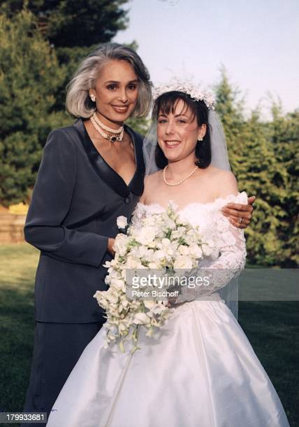 Daliah LaviGans Tochter Kathy Hochzeitvon Tochter Kathy Jason Rothman NewYork USA/Amerika