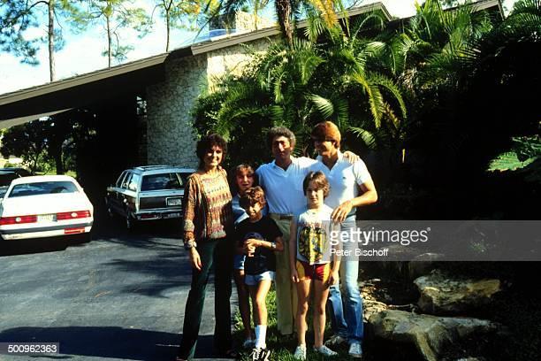 Daliah LaviGans Tochter Kathy Söhne Alexander Steven Rouven Ehemann Chuck Gans Bekannter Miami/Florida/Amerika/USA Familie Homestory Haus Auto Promi...