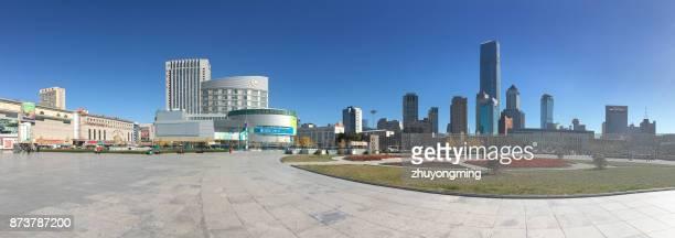 Dalian Railway Station North Square Panoramic