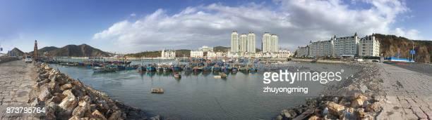 Dalian Tiger Beach Fisherman's Wharf Panoramic