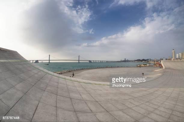 Dalian Xinghai Bay Bridge and square