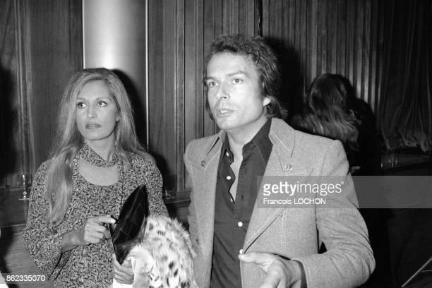 Dalida et le comte de SaintGermain en octobre 1976 à Paris France
