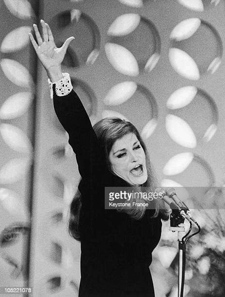 Dalida Song In 1967 In San Remo