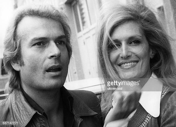 DalidaDalida Sängerin F mit Ehemann Richard Graf von StGermain 1974