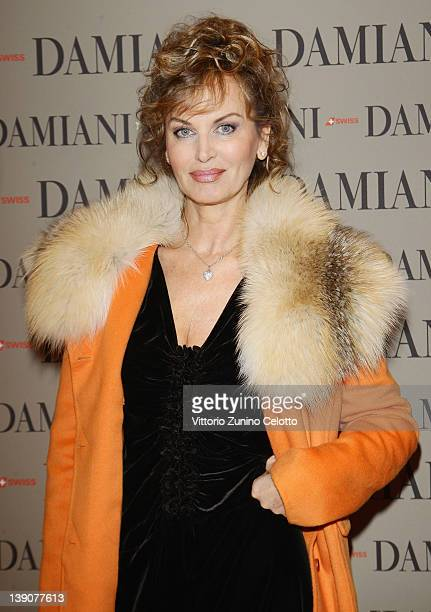 Dalila Di Lazzaro attends a cocktail party held at Damiani Flagship store on February 16 2012 in Milan Italy