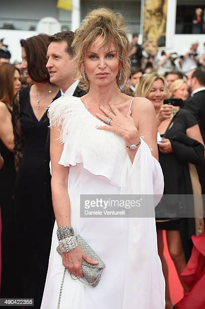 Dalila Di Lazzaro attends the Opening Ceremony and the Grace of Monaco premiere during the 67th Annual Cannes Film Festival on May 14 2014 in Cannes...