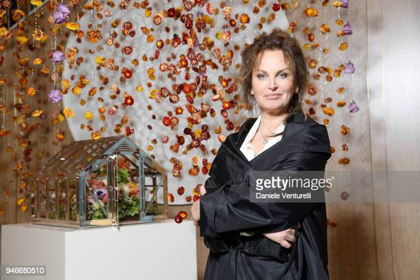 Dalila Di Lazzaro attends Tiffany Co Home and Accessories Collection on April 15 2018 in Milan Italy