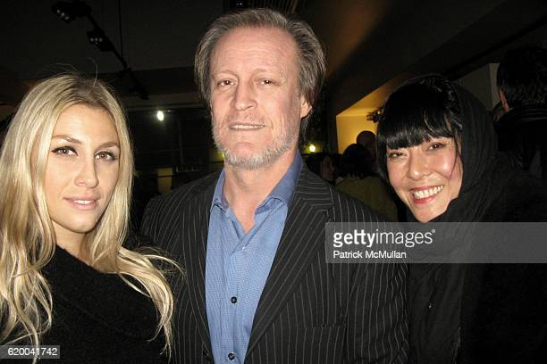 Dalila Vasowdi Patrick McMullan and Gemma Kahng attend BoConcept and KolDesign Asian Holiday Party at BoConcept on December 16 2008 in New York City