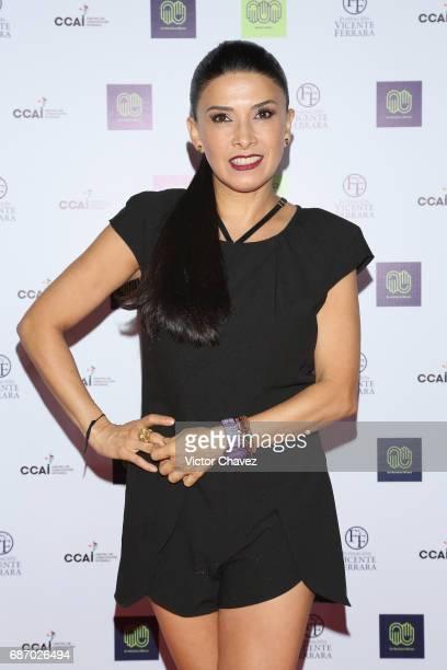 Dalilah Polanco attends the launch of En Nuestras Manos new campaign at Joy Room Antara Polanco on May 22 2017 in Mexico City Mexico