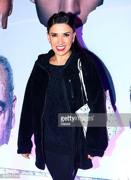 Dalilah Polanco poses during the red carpet of the movie Un Monstruo de Mil Cabezas at Cineteca Nacional on December 05 2016 in Mexico City Mexico