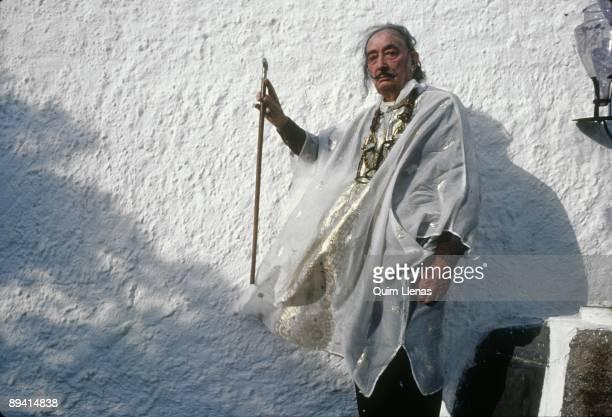 Dali's portrait in his house of Port Lligat.