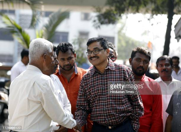 Dalit scholar Anand Teltumbde who is facing arrest in the Elgar Parishad case for his alleged links with the banned Communist Party of India seen at...