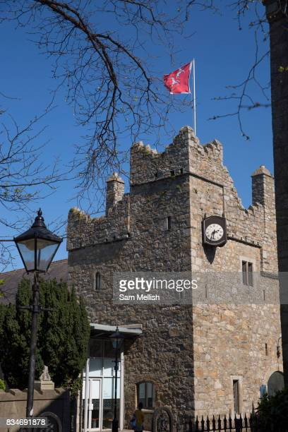 Dalkey Castle and Heritage Centre on 08th April 2017 in County Dublin Republic of Ireland Dalkey is one of the most affluent suburbs of Dublin and a...
