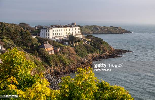 dalkey coast - dalkey stock pictures, royalty-free photos & images